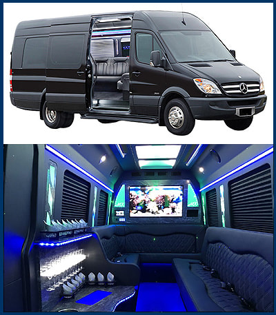 Limousine, Airport Sedan Car Service, Party Buses, Spring, Tomball, The Woodlands